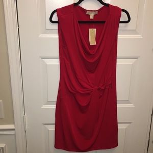 Red tight dress never worn